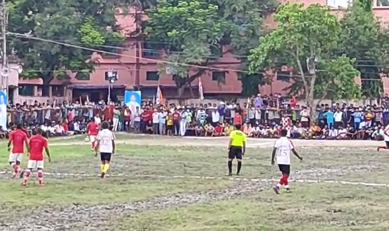 শেষ হল শেওড়াফুলিতে খেলা হবে ফুটবল প্রতিযোগিতা